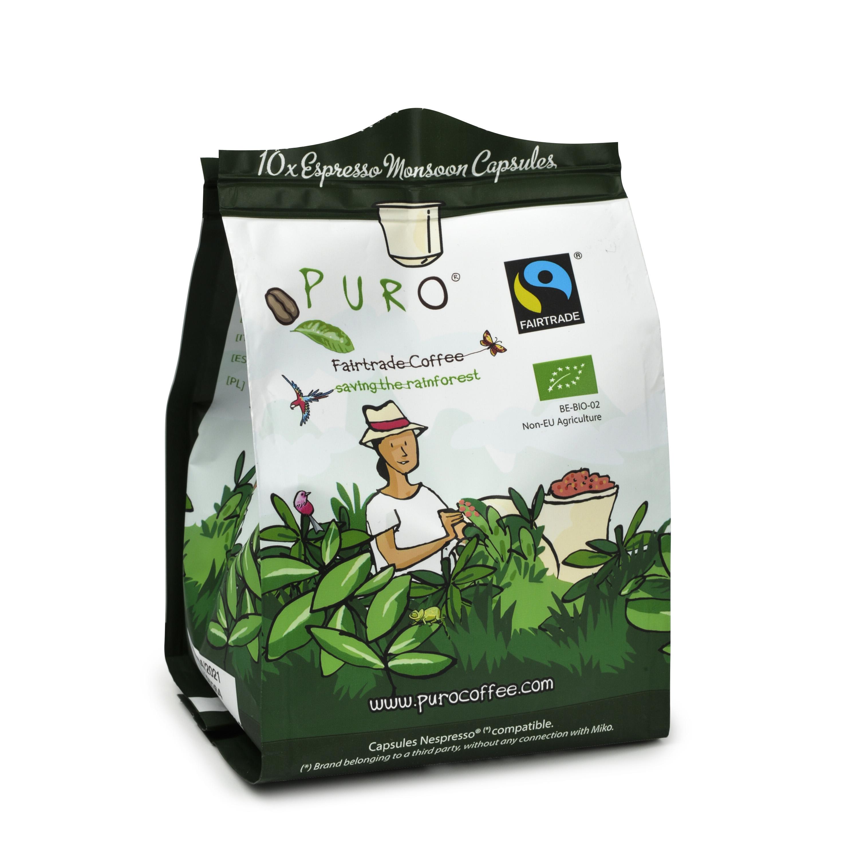 Puro Monsoon Espresso 10 stk.
